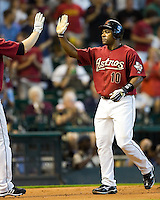 Tejada, Miguel 6089.jpg Philadelphia Phillies at Houston Astros. Major League Baseball. September 7th, 2009 at Minute Maid Park in Houston, Texas. Photo by Andrew Woolley.