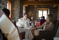 Panache restaurant in the Auberge Saint Antoine, Saint Antoine boutique hotel, Quebec City, Canada