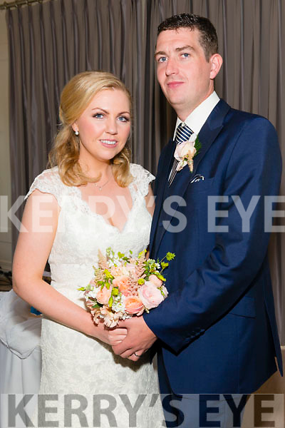 Caroline O'Connor, daughter of Tom and Mary from Killorglin and Brendan Gorman, son of late Gerry and Breda from Woodford, Co. Galway who were married on July 24th in St James Church, Killorglin. Fr Kieran O'Rourke officiated at the ceremony. Best Man was Garry Gorman and groomsmen were Edward Murry and Peter Kavanagh. Bridesmaids were Martina O'Connor, Lorraine O'Connor, Katie Cotter and Cathriona Horgan. Flowergirls was Caoimhe Grace. Pageboys was Sean O'J O'Grady. The reception was held at The Heights Hotel, Killarney, last Friday and the couple will reside in Galway.