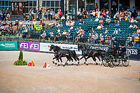 AUS-Boyd Exell. The FEI World Team and Individual Driving Championship - Cones Competition. 2018 FEI World Equestrian Games Tryon. Sunday 23 September. Copyright Photo: Libby Law Photography