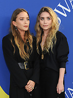 BROOKLYN, NY - JUNE 4: Mary-Kate Olsen and Ashley Olsen at the 2018 CFDA Fashion Awards at the Brooklyn Museum in New York City on June 4, 2018. <br /> CAP/MPI/JP<br /> &copy;JP/MPI/Capital Pictures