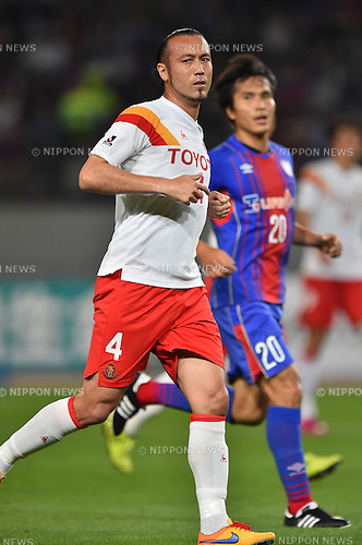 Marcus Tulio Tanaka (Grampus), MAY 23, 2015 - Football / Soccer : 2015 J1 League 1st stage match between F.C.Tokyo 0-1 Nagoya Grampus at Ajinomoto Stadium in Tokyo, Japan. (Photo by AFLO)