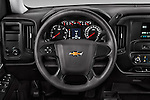 Car pictures of steering wheel view of a 2016 Chevrolet Silverado 1500 1WT Regular Cab Long Box 3 Door Pick-up Steering Wheel
