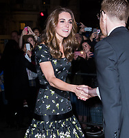 Catherine Duchess of Cambridge<br /> at National Portrait Gallery Gala 2019, London, England on 12 March 2019.<br /> CAP/JOR<br /> &copy;JOR/Capital Pictures
