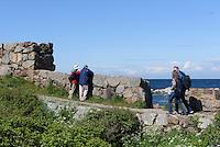 Spanns Bastion auf Frederiks&oslash;, Ertholmene (Erbseninseln) bei Bornholm, D&auml;nemark, Europa<br /> Spanns Bastion on Frederiks&oslash;, Ertholmene, Isle of Bornholm Denmark