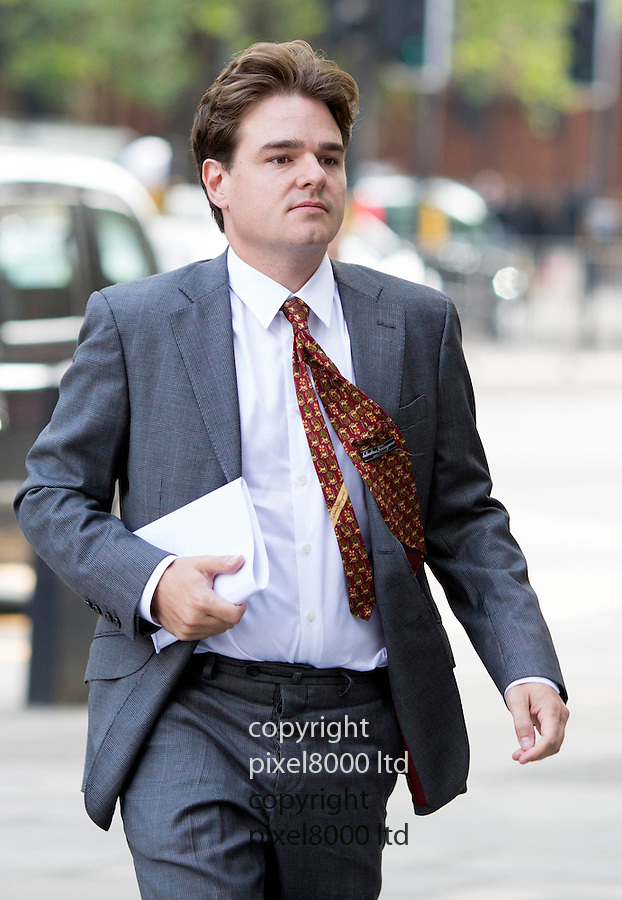 Pic shows: Alexander Economou arrives at Westminster Magistrates Court today.<br /> <br /> Also at court today was  -David de Freitas, father of Eleanor de Freitas, who killed herself days before going on trial for 'inventing a rape claim'.<br /> <br /> <br /> <br /> <br /> Pic by Gavin Rodgers/Pixel 8000 Ltd
