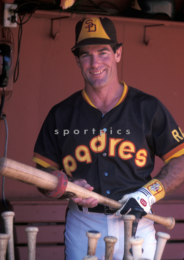 San Diego Padres Steve Garvey (6) during a game from his 1984 season. Steve Garvey  played for 19 years with 2 different team,was a 10-time All-Star and the 1974 National League MVP(David Durochik/SportPics)(David Durochik/SportPics)