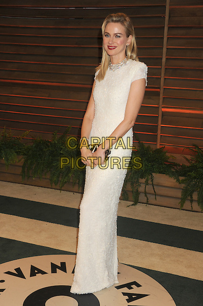 WEST HOLLYWOOD, CA - MARCH 2: Naomi Watts at the 2014 Vanity Fair Oscar Party in West Hollywood, California on March 2, 2014. <br /> CAP/MPI/mpi20<br /> &copy;mpi01/MediaPunch/Capital Pictures