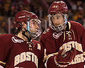 Austin Cangelosi (BC - 9), Colin White (BC - 18) The University of Massachusetts-Lowell River Hawks defeated the Boston College Eagles 4-3 to win the 2017 Hockey East tournament at TD Garden on Saturday, March 18, 2017, in Boston, Massachusetts.