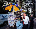 Charlotte NC - Hot dog vendors in Uptown Charlotte NC