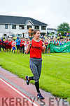 Sasha Brent Tarbert carries the torch to open the Community Games  at An Riocht Castleisland  on Saturday
