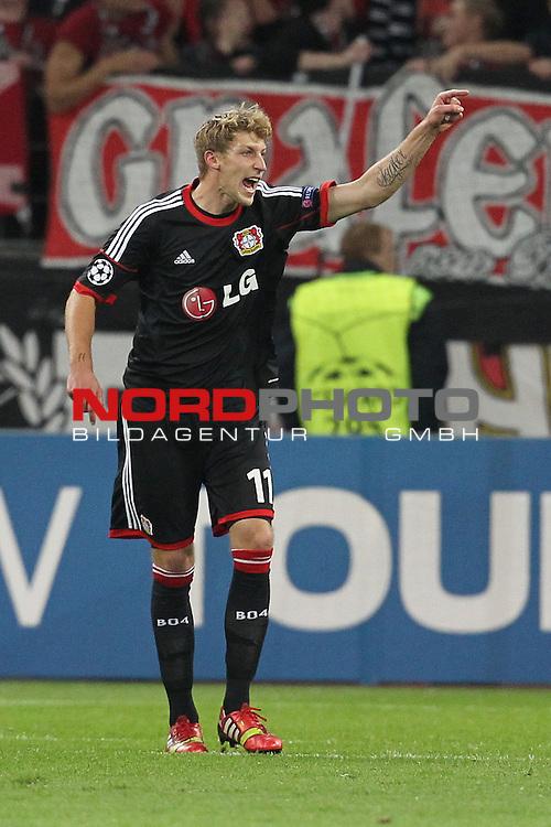 02.10.2013, BayArena, Leverkusen, GER, CL, Bayer Leverkusen vs Real Sociedad, im Bild<br /> <br /> Stefan Kie&szlig;ling (Leverkusen #11)<br /> <br /> Foto &copy; nph / Mueller