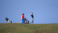 Action from the 8th tee during Round Two of the West of England Championship 2016, at Royal North Devon Golf Club, Westward Ho!, Devon  23/04/2016. Picture: Golffile | David Lloyd<br /> <br /> All photos usage must carry mandatory copyright credit (&copy; Golffile | David Lloyd)