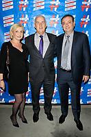 LOS ANGELES - SEP 25: Lusine Sargsyan, Pat Harris, Aghsi Tovmasyan at 'Pat Harris' California Democratic U.S. Senate run 2018 kick off' at Catalina Jazz Club Bar & Grill on September 25, 2017 in Hollywood, California