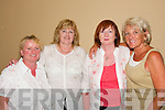 Psychic Powers: Ladies attending the Psycic Supper in the Abbey Gate Hotel, Tralee last Friday night. L-r: Geraldine OSullivan, Tralee, Eileen McCarthy, Tralee, Carmel Parker, Fenit, and Rosaleen Clark, USA..
