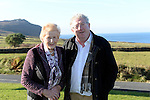 Joe Dolan, President, IHF pictured with Mary Ann McHugh, organiser of the national ploughing championships.<br /> Photo: Don MacMonagle<br /> <br /> Repro free photo