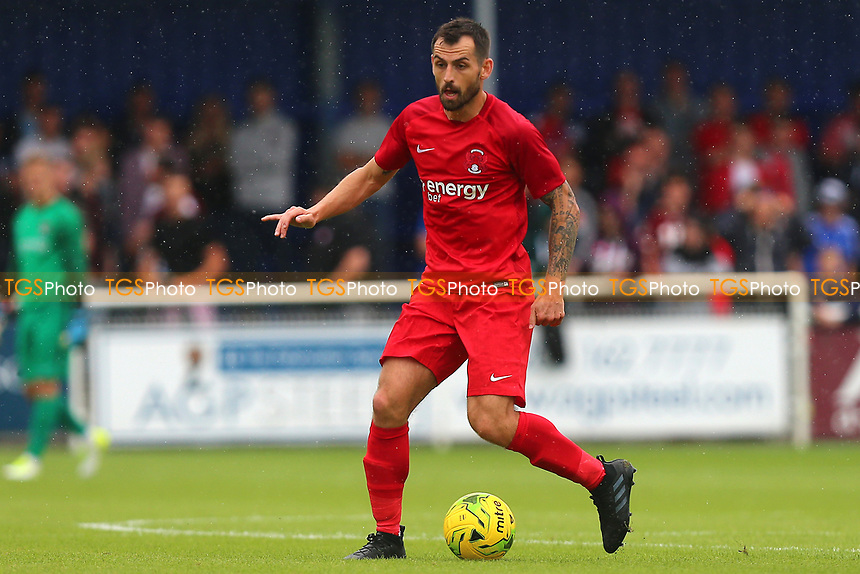 Alex Lawless of Leyton Orient during Billericay Town vs Leyton Orient, Friendly Match Football at New Lodge on 29th July 2017