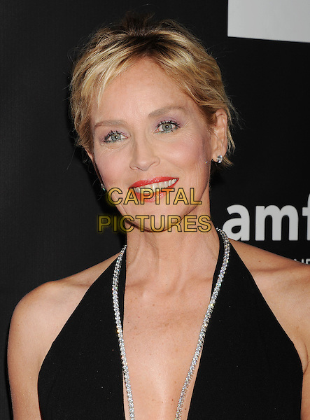 HOLLYWOOD, CA- OCTOBER 29: Actress Sharon Stone attends amfAR LA Inspiration Gala honoring Tom Ford at Milk Studios on October 29, 2014 in Hollywood, California.<br /> CAP/ROT/TM<br /> &copy;TM/ROT/Capital Pictures