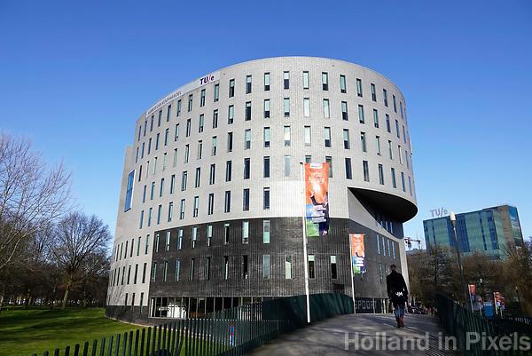 Nederland  Eindhoven -  2018. Kamer van Koophandel en TU/e eindhoven. Kennispoort.   Foto Berlinda van Dam / Hollandse Hoogte
