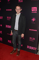 HOLLYWOOD, CA - SEPTEMBER 11: Elijah Wood at the Los Angeles Special Screening of Mandy at the Egyptian Theater in Hollywood, California on September 11, 2018. <br /> CAP/MPI/DE<br /> &copy;DE//MPI/Capital Pictures