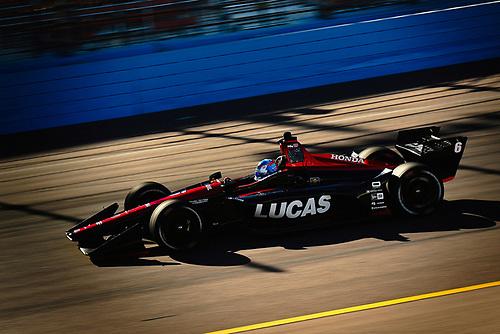 2018 Verizon IndyCar Series Phoenix testing<br /> Phoenix Raceway, Avondale, Arizona, USA<br /> Thursday 8 February 2018<br /> Robert Wickens, Schmidt Peterson Motorsports Honda<br /> World Copyright: Scott R LePage/LAT Images<br /> ref: Digital Image _SRL2869