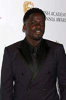 LOS ANGELES - OCT 26:  Daniel Kaluuya at the 2018 British Academy Britannia Awards at the Beverly Hilton Hotel on October 26, 2018 in Beverly Hills, CA