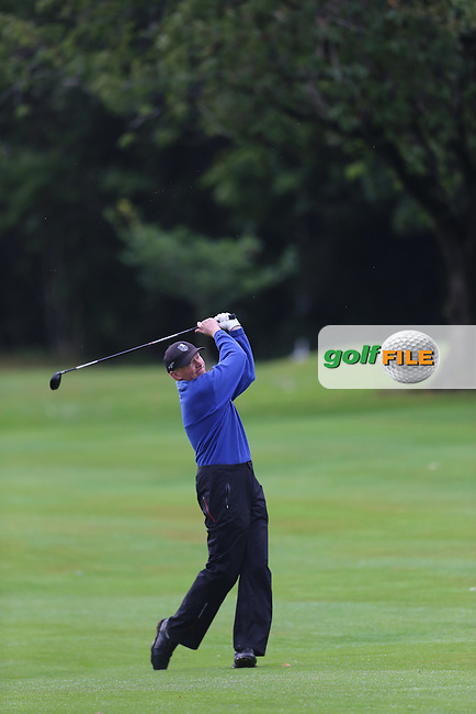Junior Stewart (Mahee Island) during the Ulster Mixed Foursomes Final, Shandon Park Golf Club, Belfast. 19/08/2016<br /> <br /> Picture Jenny Matthews / Golffile.ie<br /> <br /> All photo usage must carry mandatory copyright credit (&copy; Golffile | Jenny Matthews)