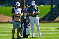 Shane Lowry (IRL) and caddy Brian Martin during Round 1 of the Players Championship, TPC Sawgrass, Ponte Vedra Beach, Florida, USA. 12/03/2020<br /> Picture: Golffile   Fran Caffrey<br /> <br /> <br /> All photo usage must carry mandatory copyright credit (© Golffile   Fran Caffrey)