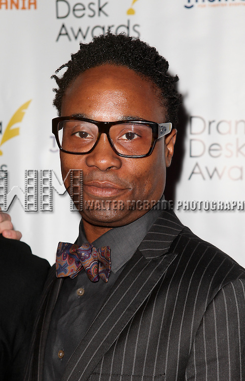 Billy Porter pictured at the 57th Annual Drama Desk Awards held at the The Town Hall in New York City, NY on June 3, 2012. © Walter McBride