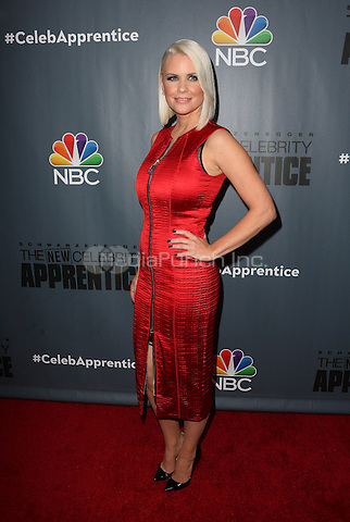 "Universal City, CA - DECEMBER 09: Carrie Keagan, At Q&A For NBC's "" The New Celebrity Apprentice"" At NBC Universal Lot, California on December 09, 2016. Credit: Faye Sadou/MediaPunch"