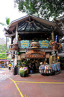 Tree House Cafe in the International Market, Waikiki, Hawaii