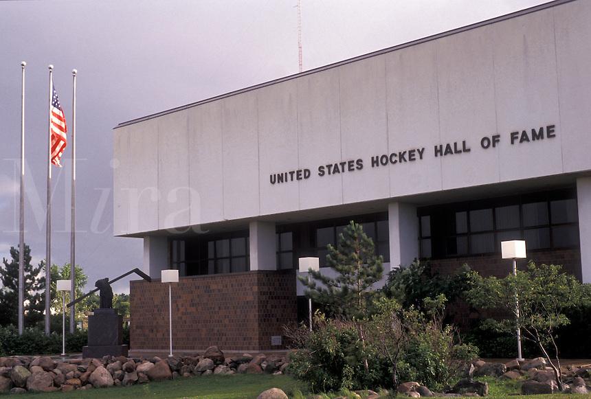 AJ2872, Hall of Fame, Hockey, Minnesota, United States Hockey Hall of Fame in the town of Eveleth in the state of Minnesota.