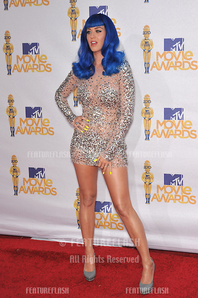 Katy Perry at the 2010 MTV Movie Awards at the Gibson Amphitheatre, Universal Studios, Hollywood..June 6, 2010  Los Angeles, CA.Picture: Paul Smith / Featureflash