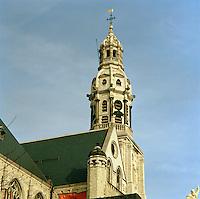 Februari 1991. Sint-Pauluskerk in Antwerpen.