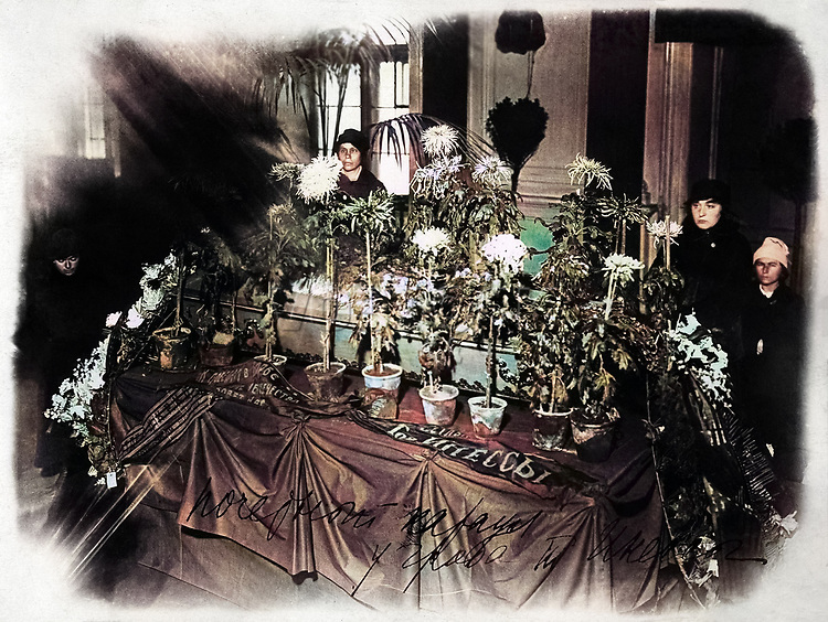 Похороны Инессы Арманд  (1874-1920) - деятель российского революционного движения. 1920 год / Funeral of Inessa Armand (1874-1920) activist of Russian and international revolutionary movement, 1920.