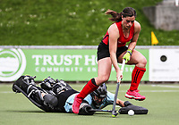 Canterbury v Capital women. National Hockey League, Day One action, National Hockey Stadium, Wellington, New Zealand. Saturday 15 September 2018. Photo: Simon Watts/www.bwmedia.co.nz/Hockey NZ
