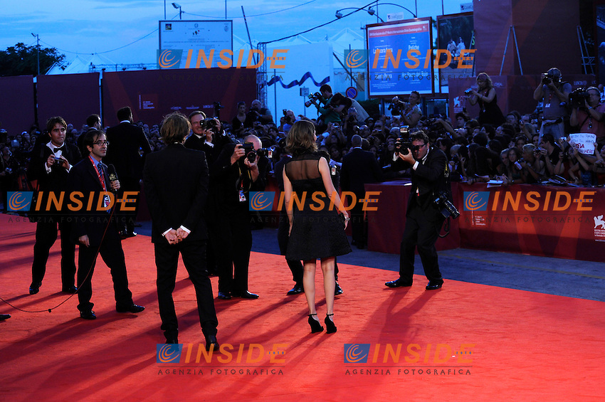 "- ""67 Mostra Internazionale D'Arte Cinematografica"". Friday, 2010 September 03, Venice ITALY..- In The Picture: The film director Sofia Coppola on the red carpet for the premiere of the film ""SOMEWHERE""...Photo STEFANO MICOZZI / Insidefoto"