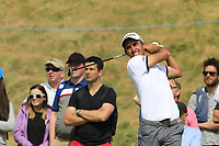 Edoardo Molinari (ITA) tees off the 8th tee during Friday's Round 2 of the 2018 Dubai Duty Free Irish Open, held at Ballyliffin Golf Club, Ireland. 6th July 2018.<br /> Picture: Eoin Clarke | Golffile<br /> <br /> <br /> All photos usage must carry mandatory copyright credit (&copy; Golffile | Eoin Clarke)
