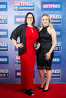 Picture by Allan McKenzie/SWpix.com - 25/09/2018 - Rugby League - Betfred Championship & League 1 Awards Dinner 2018 - The Principal Manchester- Manchester, England - Red carpet, Nicola Hudson.