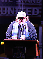 www.acepixs.com<br /> <br /> January 19 2017, New York City<br /> <br /> Michael Moore speaks at an anti-Trump rally outside TrumpmTower on January 19 2017 in New York City<br /> <br /> By Line: Zelig Shaul/ACE Pictures<br /> <br /> <br /> ACE Pictures Inc<br /> Tel: 6467670430<br /> Email: info@acepixs.com<br /> www.acepixs.com