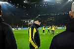 14.01.2018, Signal Iduna Park, Dortmund, GER, 1.FBL, Borussia Dortmund vs VfL Wolfsburg, <br /> <br /> im Bild | picture shows:<br /> Peter St&ouml;ger | Stoeger (Trainer Borussia Dortmund), <br /> <br /> Foto &copy; nordphoto / Rauch