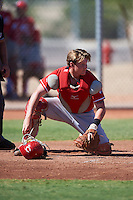 Cincinnati Reds Jake Turnbull (36) during an Instructional League game against the Chicago White Sox on October 11, 2016 at the Cincinnati Reds Player Development Complex in Goodyear, Arizona.  (Mike Janes/Four Seam Images)