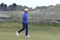 Tommy Fleetwood (ENG) on the 2nd fairway during Round 2 of the Betfred British Masters 2019 at Hillside Golf Club, Southport, Lancashire, England. 10/05/19<br /> <br /> Picture: Thos Caffrey / Golffile<br /> <br /> All photos usage must carry mandatory copyright credit (&copy; Golffile | Thos Caffrey)