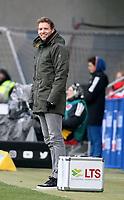10.02.2018, Wirsol Rhein-Neckar-Arena, Sinsheim, GER, 1.FBL, TSG 1899 Hoffenheim vs FSV Mainz 05, <br />Trainer Julian Nagelsmann (Hoffenheim) *** Local Caption *** © pixathlon<br /> Contact: +49-40-22 63 02 60 , info@pixathlon.de