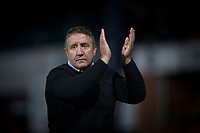 4th January 2020; Dens Park, Dundee, Scotland; Scottish Championship Football, Dundee FC versus Inverness Caledonian Thistle; Inverness Caledonian Thistle manager John Robertson applauds the fans at the end of the match - Editorial Use