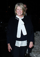 NEW YORK, NY - JANUARY 11: Martha Stewart arriving at the IFC Films premiere of Freak Show at the Landmark Sunshine Cinema in New York City on January 10, 2018. <br /> CAP/MPI/RW<br /> &copy;RW/MPI/Capital Pictures