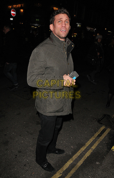 Alex Reid spotted walking along St Martin's Lane, London, UK, on Tuesday 16 February 2016.<br /> CAP/CAN<br /> &copy;Can Nguyen/Capital Pictures