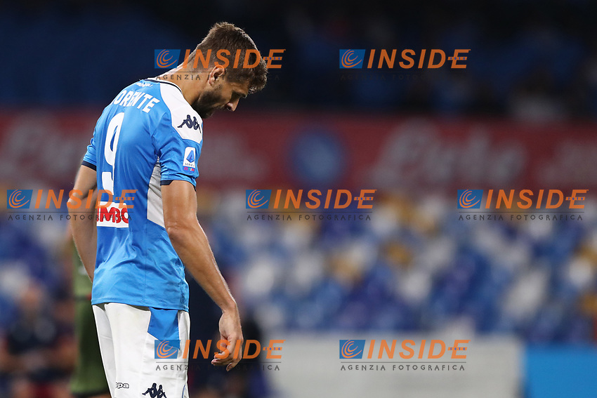 Fernando Llorente of Napoli dejection<br /> Napoli 25-9-2019 Stadio San Paolo <br /> Football Serie A 2019/2020 <br /> SSC Napoli - Cagliari SC<br /> Photo Cesare Purini / Insidefoto
