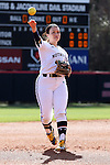 17 February 2017: Notre Dame's Melissa Rochford. The Notre Dame Fighting Irish played the University of Minnesota Golden Gophers at Dail Softball Stadium in Raleigh, North Carolina as part of the ACC/Big 10 College Softball Challenge. Minnesota won the game 4-1