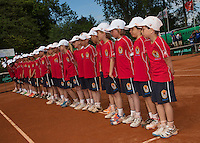 09-06-13, Tennis, Netherlands,The Hague, Playoffs Competition, The ballkids